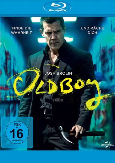 blu-ray Oldboy FSK: 16