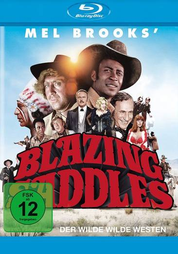 blu-ray Blazing Saddles Der wilde Wilde Westen FSK: 12