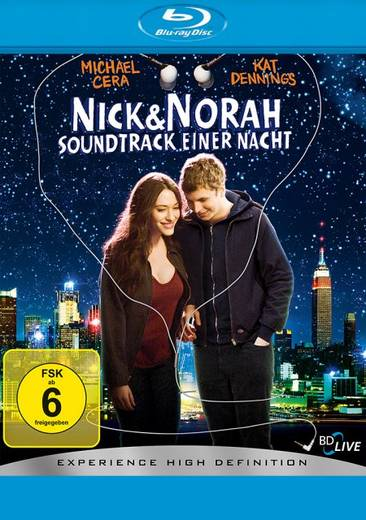 blu-ray Nick & Norah Soundtrack einer Nacht FSK: 6