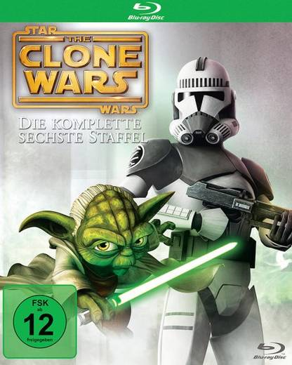 blu-ray Star Wars: The Clone Wars FSK: 12