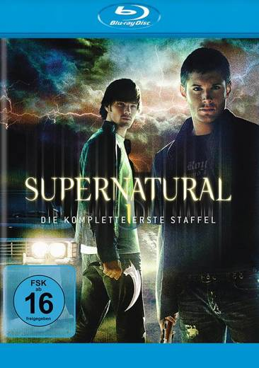 blu-ray Supernatural 1 Neu FSK: 16