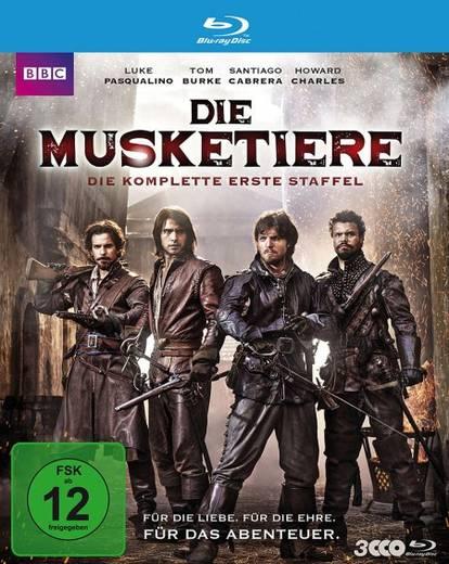 blu-ray Die Musketiere FSK: 12