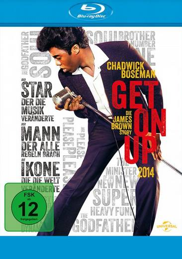 blu-ray Get on Up FSK: 12