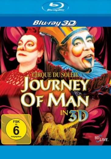 blu-ray 3D Cirque du Soleil Journey of man 3D FSK: 6