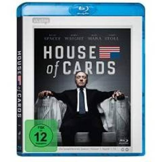 blu-ray House of Cards Staffel 1 FSK: 12