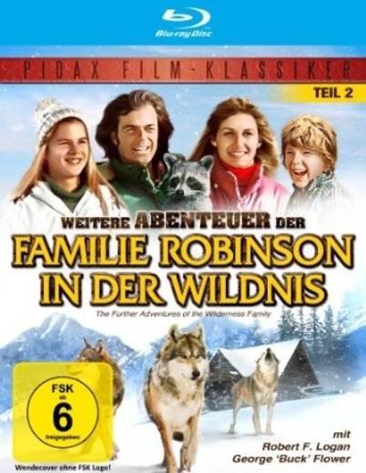 blu-ray Weitere Abenteuer der Familie Robinson in der Wildnis FSK: 6