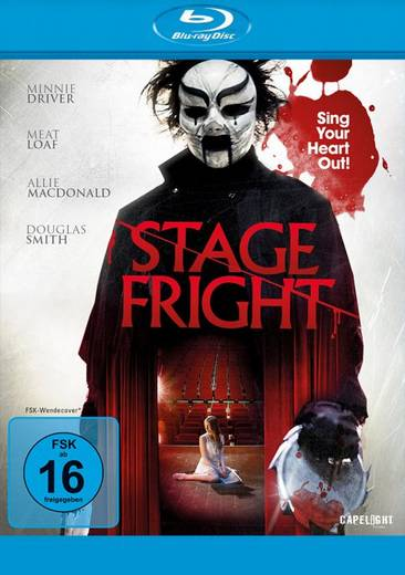 blu-ray Stage Fright FSK: 16