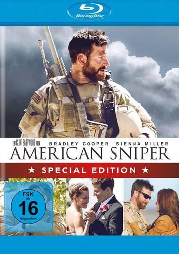 blu-ray American Sniper S.E. FSK: 16
