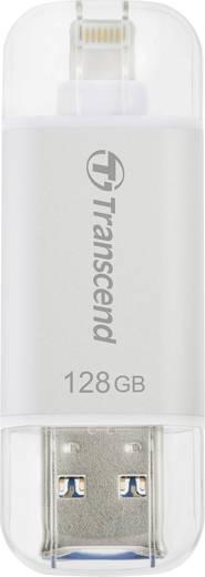 USB-Zusatzspeicher Smartphone/Tablet Transcend JetDrive™ Go 300 Silber 128 GB USB 3.1, Apple Lightning