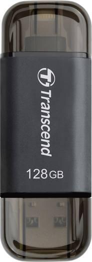 USB-Zusatzspeicher Smartphone/Tablet Transcend JetDrive™ Go 300 Gold 128 GB USB 3.1, Apple Lightning