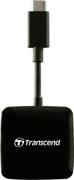 USB čtečka karet pro smartphone/tablet Transcend TS-RDC2K, USB 3.1, černá