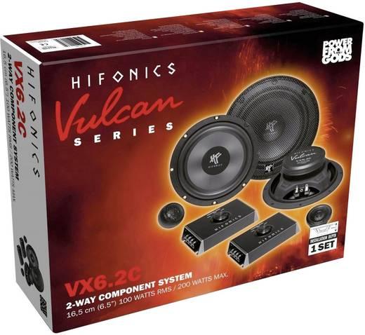 2-Wege Einbaulautsprecher-Set 200 W Hifonics VX-6.2C