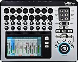 Image of Digital-Mischpult QSC TOUCHMIX 16 Anzahl Kanäle:20 USB-Anschluss