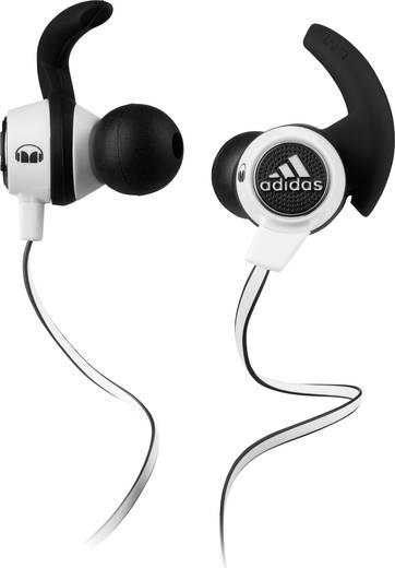 Sport Kopfhörer Monster Adidas Supernova In Ear Headset, Schweißresistent, Wasserabweisend Schwarz, Weiß