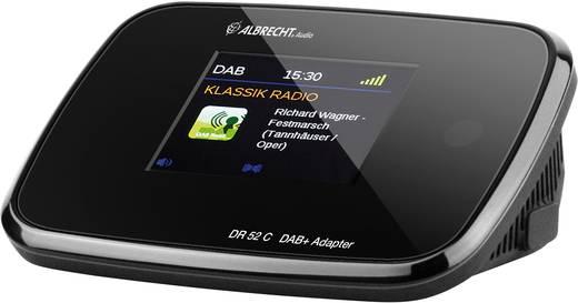 Albrecht DR 52 C DAB+ Radio-Adapter DAB+, UKW Schwarz