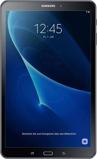 Samsung Galaxy Tab A 10.1 2016 Android-Tablet 25.7 cm (10.1 Zoll) 32 GB Wi-Fi Schwarz 1.6 GHz Octa Core Android™ 6.0 Mar