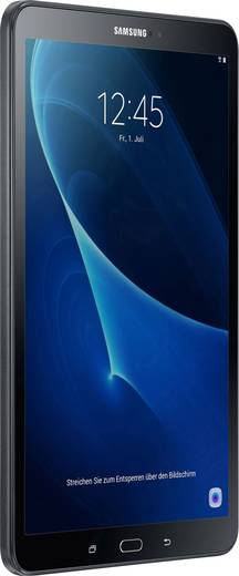 Samsung Galaxy Tab A 10.1 (2016) Android-Tablet 25.7 cm (10.1 Zoll) 16 GB Wi-Fi Schwarz 1.6 GHz Octa Core Android™ 6.0 M