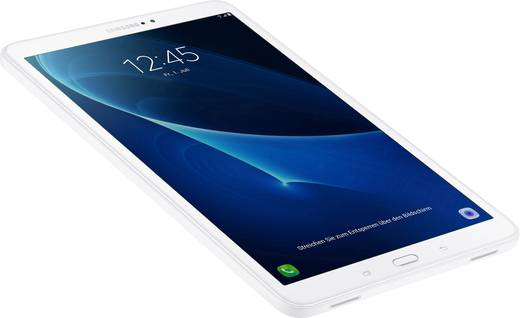 Samsung Galaxy Tab A 10.1 (2016) Android-Tablet 25.7 cm (10.1 Zoll) 16 GB GSM/2G, UMTS/3G, LTE/4G, Wi-Fi Weiß 1.6 GHz Oc