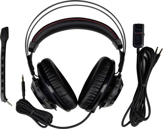 Gaming Headset 3.5 mm Klinke schnurgebunden HyperX Cloud Revolver™ Over Ear Schwarz