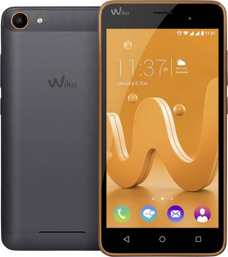 WIKO Jerry Smartphone 12.7 cm (5 Zoll) 1.3 GHz Quad Core 16 GB 5 Mio. Pixel Android™ 6.0 Marshmallow Orange, Spacegrau
