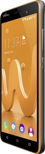 WIKO Jerry Dual-SIM Smartphone 12.7 cm (5 Zoll) 1.3 GHz Quad Core 16 GB 5 Mio. Pixel Android™ 6.0 Marshmallow Orange, Sp