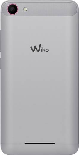 WIKO Jerry Dual-SIM Smartphone 12.7 cm (5 Zoll) 1.3 GHz Quad Core 16 GB 5 Mio. Pixel Android™ 6.0 Marshmallow Pink, Silb