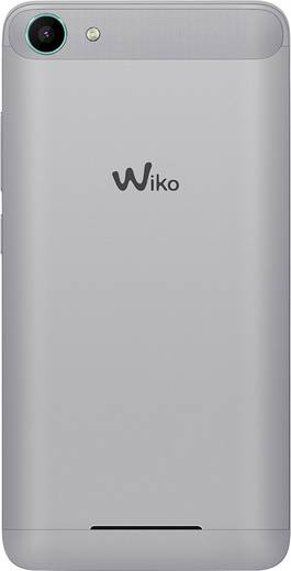 WIKO Jerry Dual-SIM Smartphone 12.7 cm (5 Zoll) 1.3 GHz Quad Core 16 GB 5 Mio. Pixel Android™ 6.0 Marshmallow Türkis-Sil