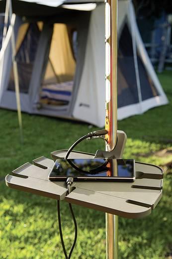 LED Camping-Leuchte Doble SCS200T Telescope akkubetrieben 1600 g Edelstahl, Grau ITP1001000