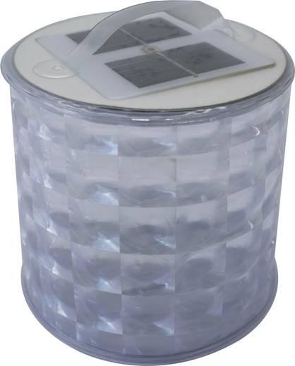 LED Camping-Leuchte Phaesun Blow-Up Disco solarbetrieben 100 g Transparent, Silber XSK-L07-2