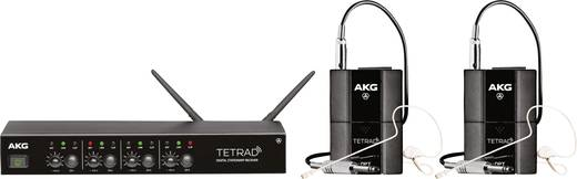 Headset Funkmikrofon-Set AKG DMS TETRAD PERFORMERSET Übertragungsart:Funk