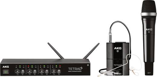 Funkmikrofon-Set AKG DMS TETRAD MIX Übertragungsart:Funk
