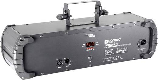 LED-Effektstrahler Cameo Twinscan 20 Anzahl LEDs:2 x 10 W