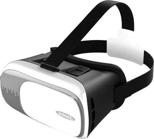 ednet 87000 Weiß, Silber, Schwarz Virtual Reality Brille
