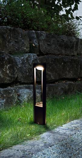 LED-Außenstandleuchte 6 W Warm-Weiß Heitronic 35831 Maryland Graphit