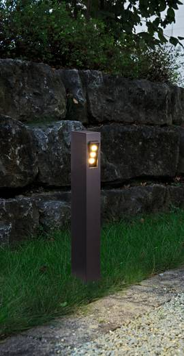 LED-Außenstandleuchte 9 W Warm-Weiß Heitronic 35853 Mailand Graphit