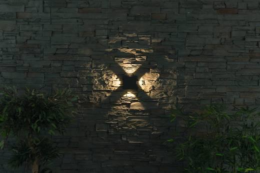 LED-Außenwandleuchte 8 W Warm-Weiß Heitronic Cuatro 35278 Graphit