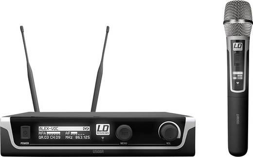 Funkmikrofon-Set LD Systems U508 HHC Übertragungsart:Funk