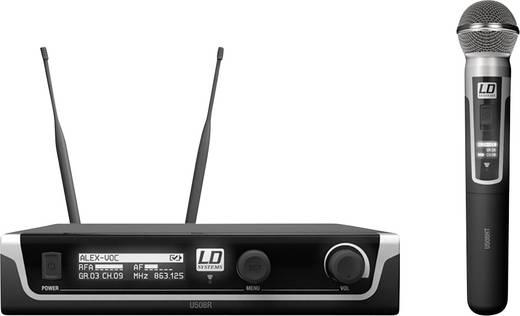 Funkmikrofon-Set LD Systems U508 HHD Übertragungsart:Funk
