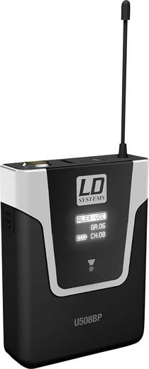 Headset Funkmikrofon-Set LD Systems U508 BPHH Übertragungsart:Funk