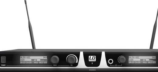 Headset Funkmikrofon-Set LD Systems U508 BPHH2 Übertragungsart:Funk