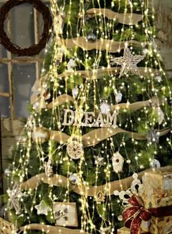 LED světelný plášť na vánoční stromeček Polarlite 230 V, 240 LED teplá bílá, neutrálně bílá, 8 m