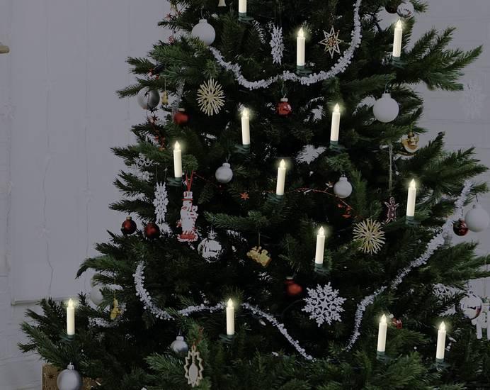 Polarlite LBA-30-003a Funk-Weihnachtsbaum-Beleuchtung