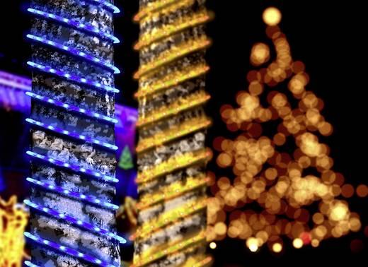 Micro-Lichterkette Außen batteriebetrieben 65 LED Warm-Weiß Beleuchtete Länge: 5 m Polarlite
