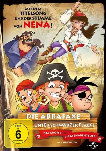 DVD Die Abrafaxe Unter schwarzer Flagge FSK: 6