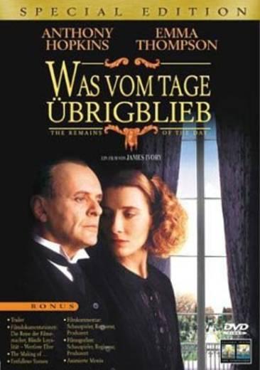 DVD Was vom Tage übrigblieb FSK: 6