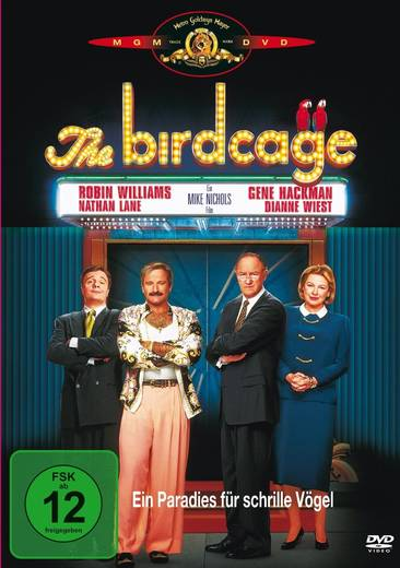 DVD The Birdcage Ein Paradies für schrille Vögel FSK: 12