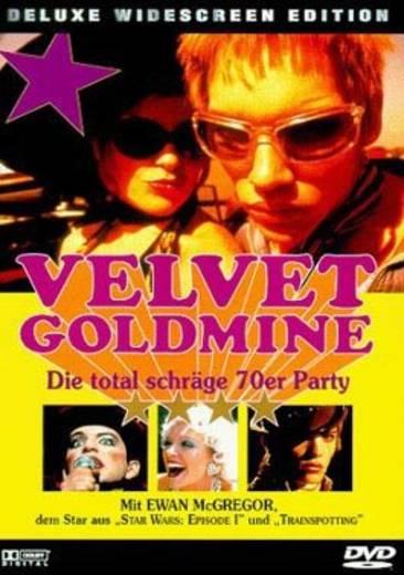 DVD Velvet Goldmine Die total schräge 70er Party FSK: 12