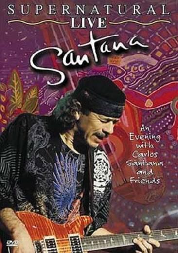 DVD Santana Supernatural LIVE FSK: 0