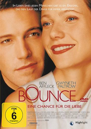 DVD Bounce Eine Chance für die Liebe FSK: 6