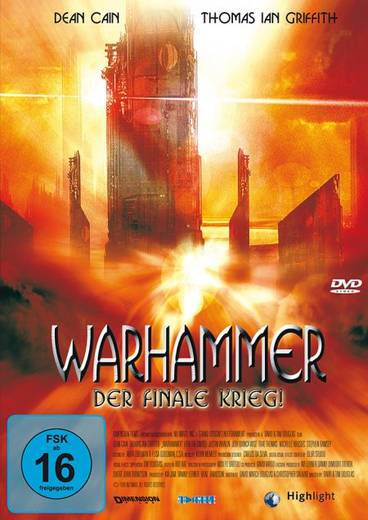 DVD Warhammer Der finale Krieg! FSK: 16
